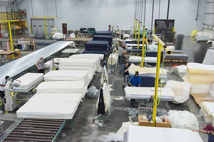 Manufacturing at American Bedding