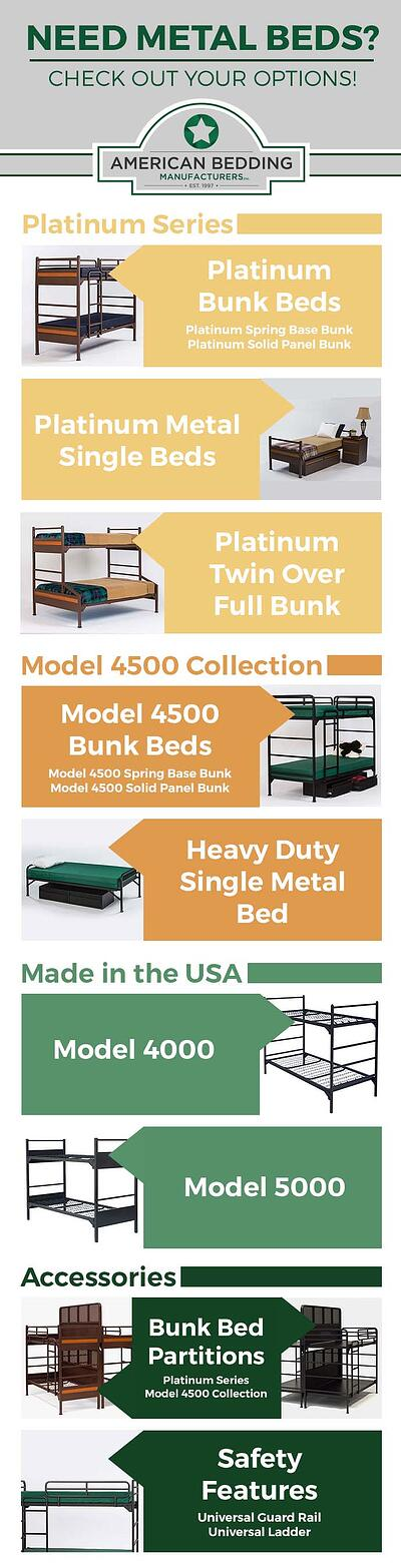 Need Meta Beds? Check out your options. Infographic.