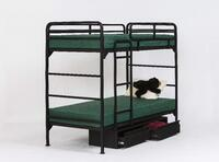 Model 4500 Metal Bunk Bed