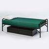 Heavy Duty Single Metal Bed