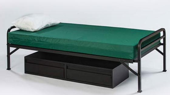 Single Metal Beds Become the Next Best Thing for Your Shelter or Rescue Mission